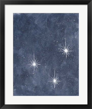 Framed Starry Sky Print