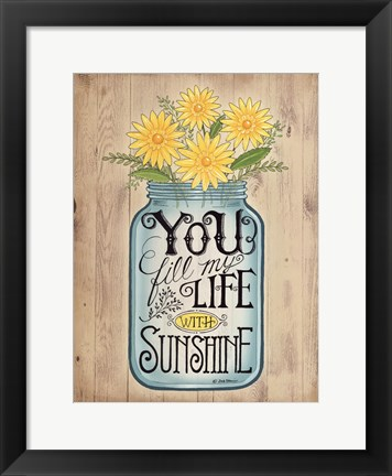 Framed Sunshine Print