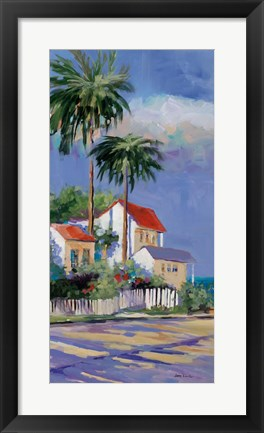 Framed Key West I Print