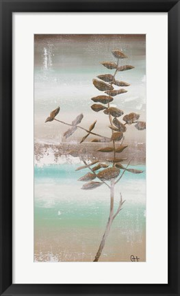 Framed Winter Beach I Print
