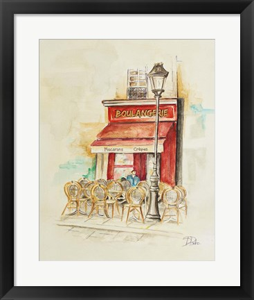 Framed Cafe Du Paris I Print