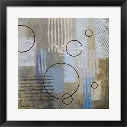 Framed Rain Abstract II Print
