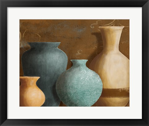 Framed Ancient Clay II Print