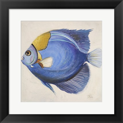 Framed Little Fish III Print