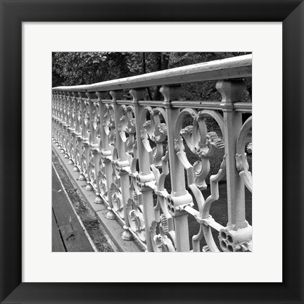 Framed Walk Across II Print