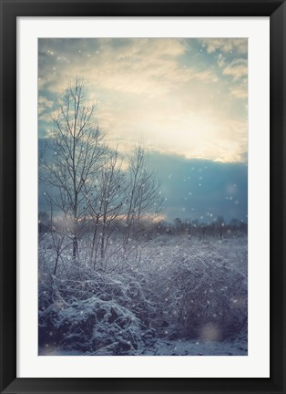 Framed Winter's Day Print