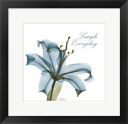 Framed Laugh Everday Lily A36 Print