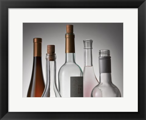 Framed Bottle Neck 1 Print