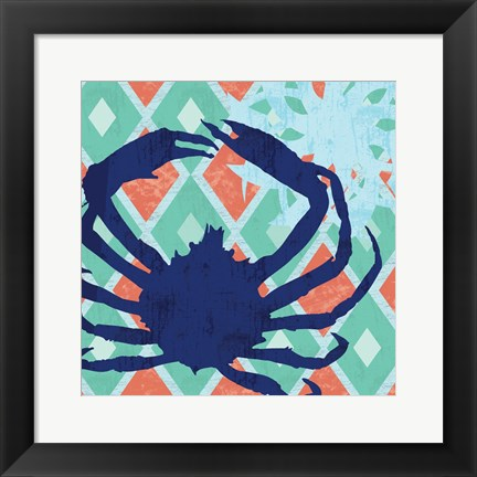 Framed Under The Sea 2 Print