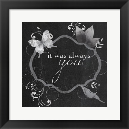 Framed You Always Print