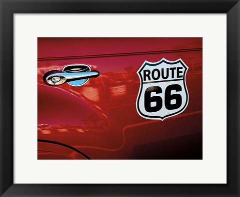 Framed Classic Route 66 Print