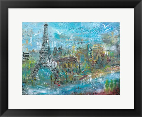 Framed Paris in the Afternoon Print