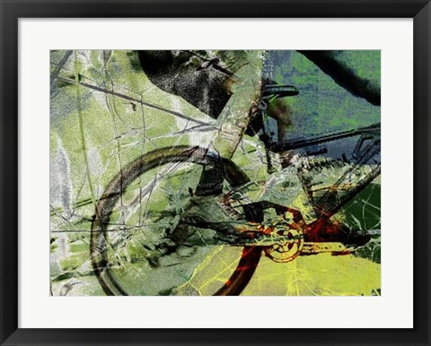 Framed Mountain Bike Print