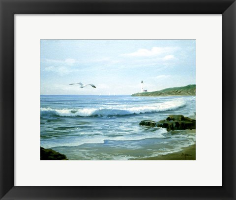 Framed Lighthouse 12 Print