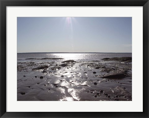 Framed Atlantic Skies II Print