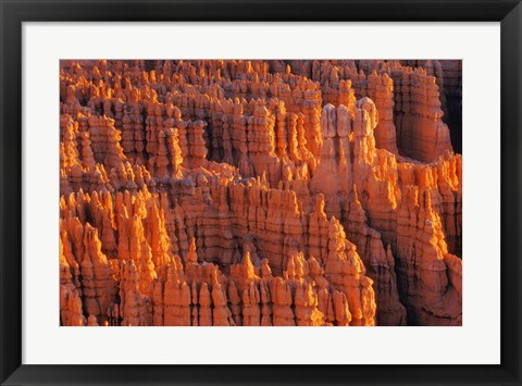 Framed Red Rock Formations Print