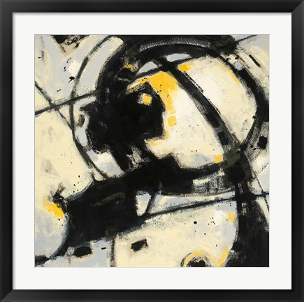 Framed Expression Abstract III Print