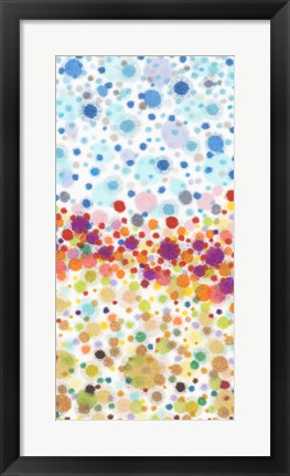 Framed Dot Play II Print