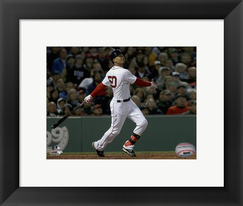 Framed Mookie Betts 2016 Action Print