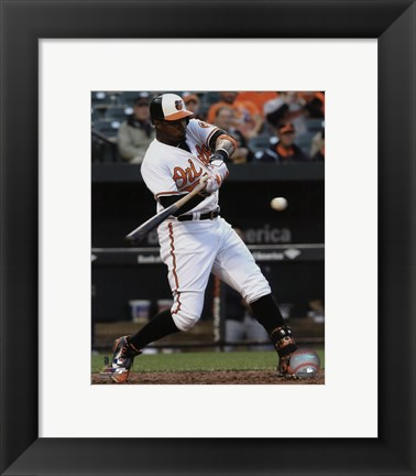 Framed Adam Jones 2016 Action Print
