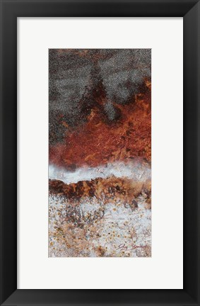 Framed Fire & Ice - C Print