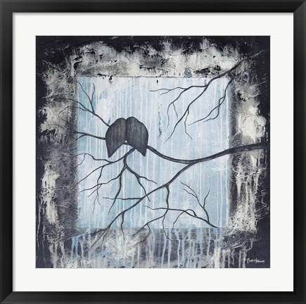 Framed Remnant of Rain Print