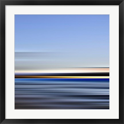 Framed Seascape No. 17 Print
