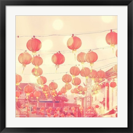 Framed Chinatown Print