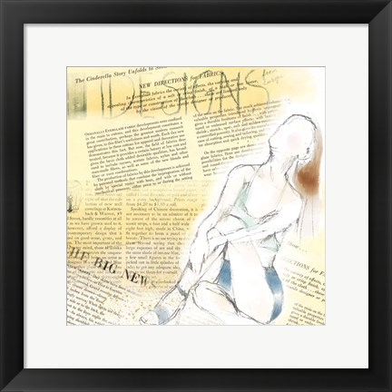 Framed Figure Print