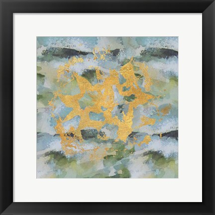 Framed Geode Abstract 1 Print