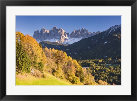 Framed Autumn Grandeur Print