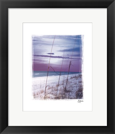 Framed Dawn Print