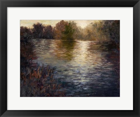 Framed Glowing Reflection Print