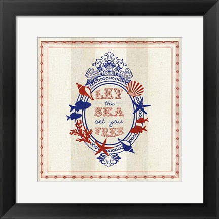 Framed Nautical Wisdom III Print