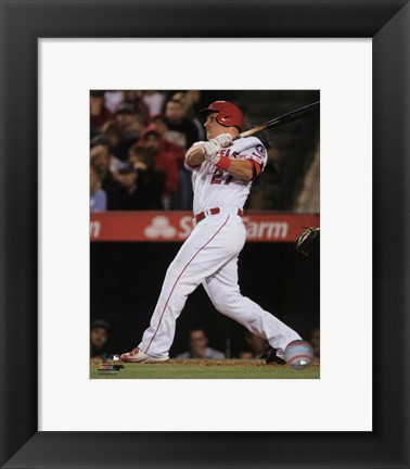 Framed Mike Trout 2016 Action Print