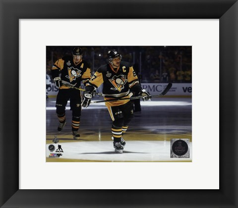 Framed Sidney Crosby Game 2 of the 2016 Stanley Cup Finals Print