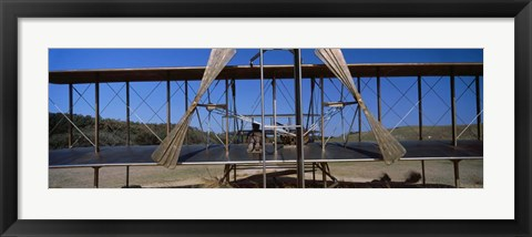 Framed Wright Brothers National Memorial, North Carolina Print