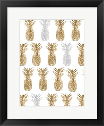 Framed Pineapple Life VII Print