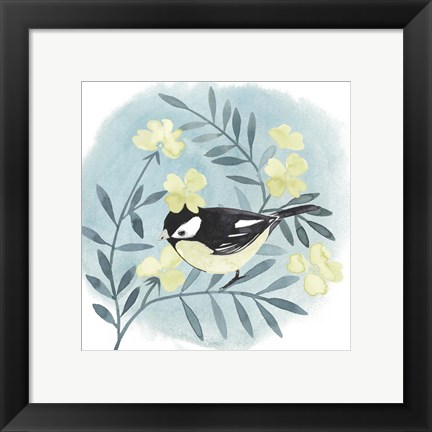 Framed Feathered Friends IV Print