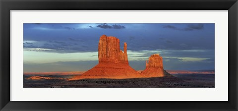Framed Monument Valley, Arizona Print