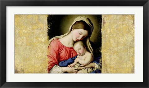 Framed Holy Virgin (After Sassoferrato) Print