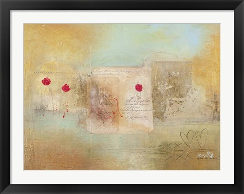 Framed Roses for You Print