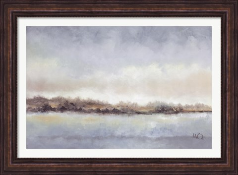 Framed Calm Horizon Print