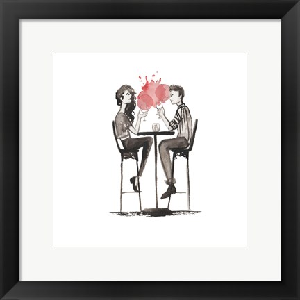 Framed Entertain illo 3 Print