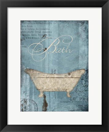 Framed Bath Print