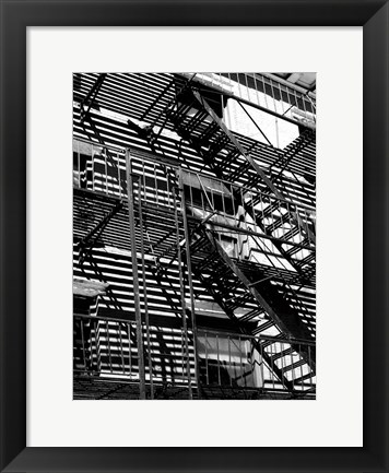 Framed Escaping The Fire A Print