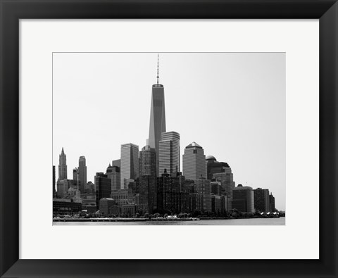 Framed Freedom Tower Print