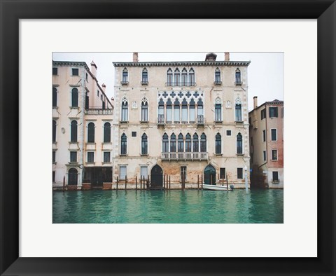 Framed Venice Canals 2 Print