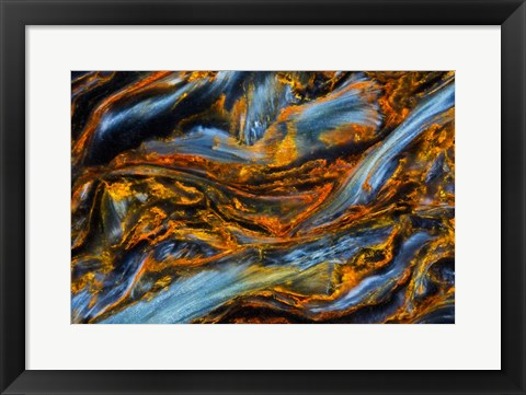 Framed Pietersite from Namibia 3 Print