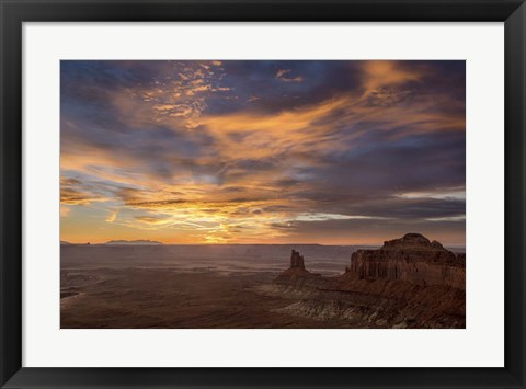Framed Arizona Sunset Print